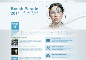 Bosch parade wordpress website by Istiecool